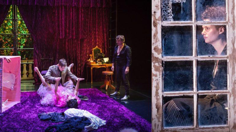 La Bonne Education (Labiche) / Eugénie Grandet (Balzac) © Arthur Pequin / DR (montage LC)