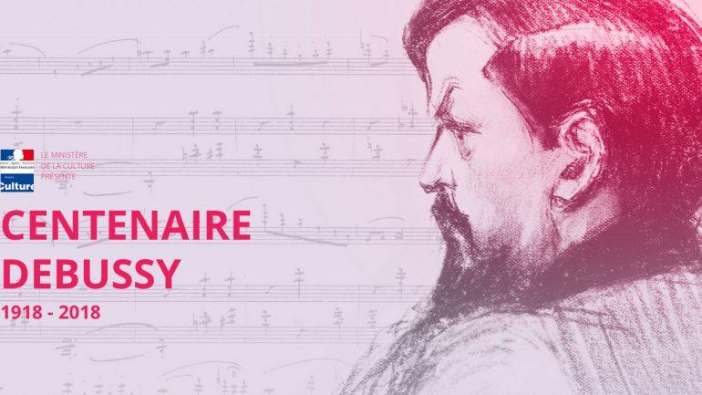 Visuel du centenaire Debussy