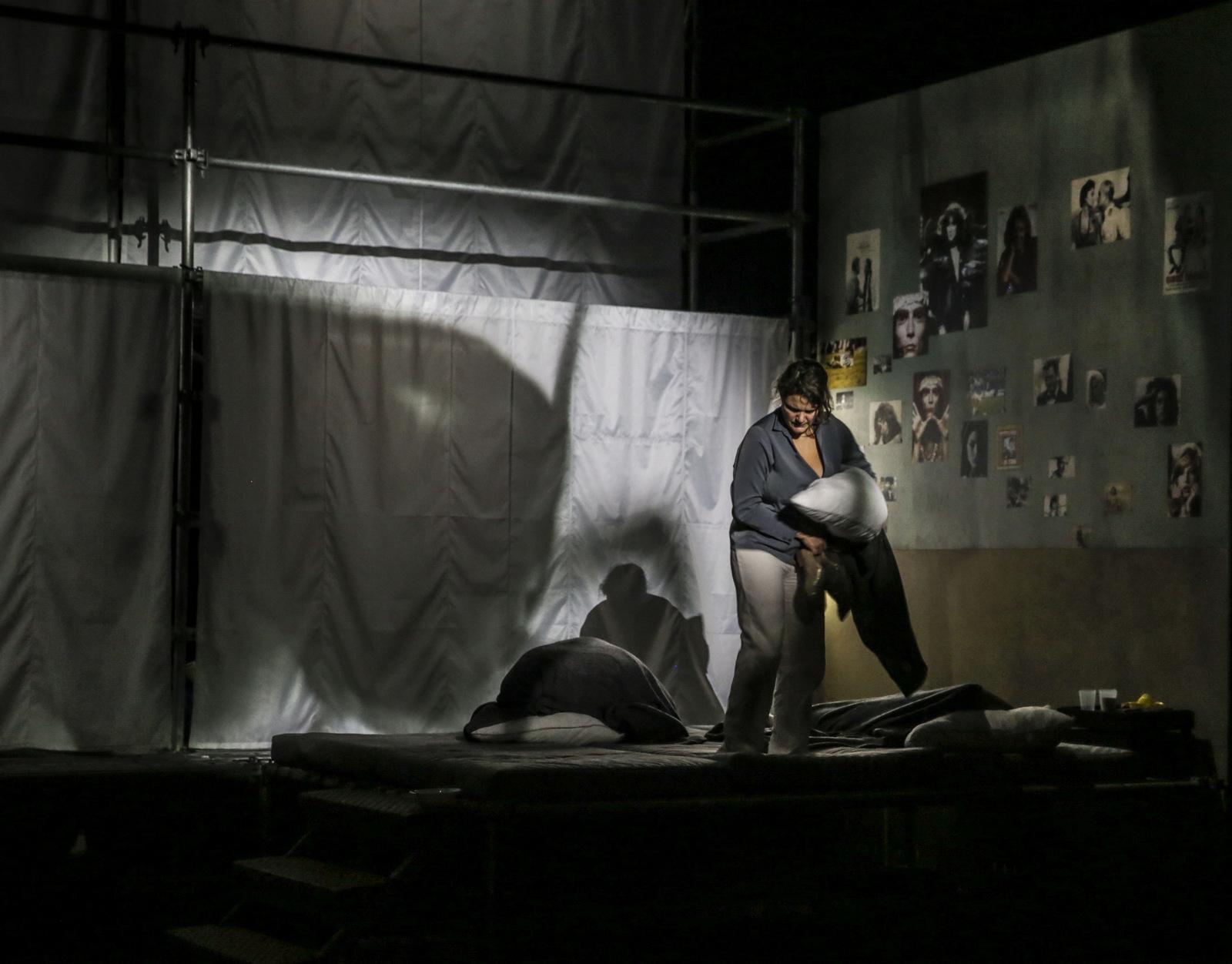 Rebibbia – Mise en scène Louise Vignaud © Michel Cavalca