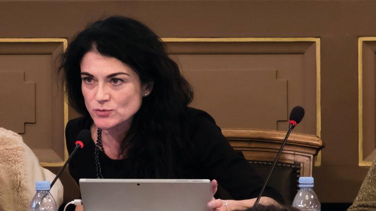 Nathalie Perrin-Gilbert au conseil municipal, le 19novembre 2018 © Tim Douet