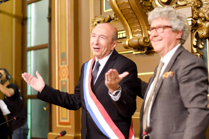 """Gérard Collomb veut créer un """"Sénat"""" à Lyon"""