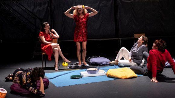 Rebibbia - Mise en scène Louise Vignaud (c) Rémi Blaquez (photo de répétition)