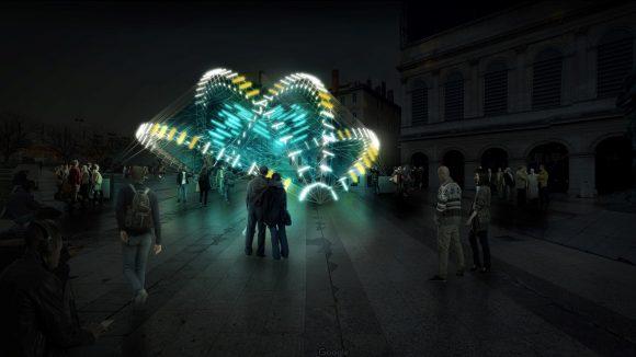 Fête des lumières 2018 – Abyss, place Louis-Pradel (prévisualisation) © Nicolas Paolozzi / RDV Collectif