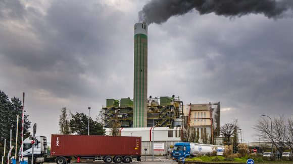 L'incinérateur de déchets de Gerland © Tim Douet