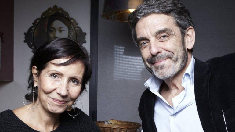 Pom Bessot et Philippe Lefait, les parents de Lou © DR
