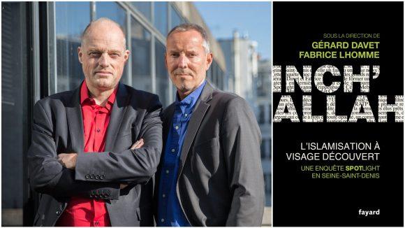 Fabrice Lhomme et Gérard Davet © Vincent Chapman (montage LC)