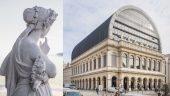L'opéra de Lyon et l'une de ses muses © Tim Douet