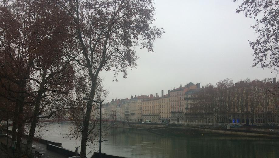 Météo du 7 décembre à Lyon : pluie, nuages et pollution