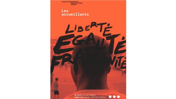 """Affiche du film documentaire """"Les Accueillants"""""""