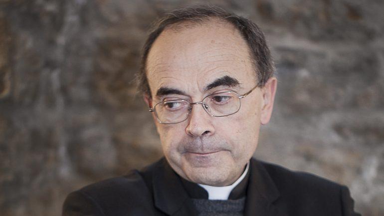 Le cardinal Philippe Barbarin, à Lyon, en 2013 © Tim Douet