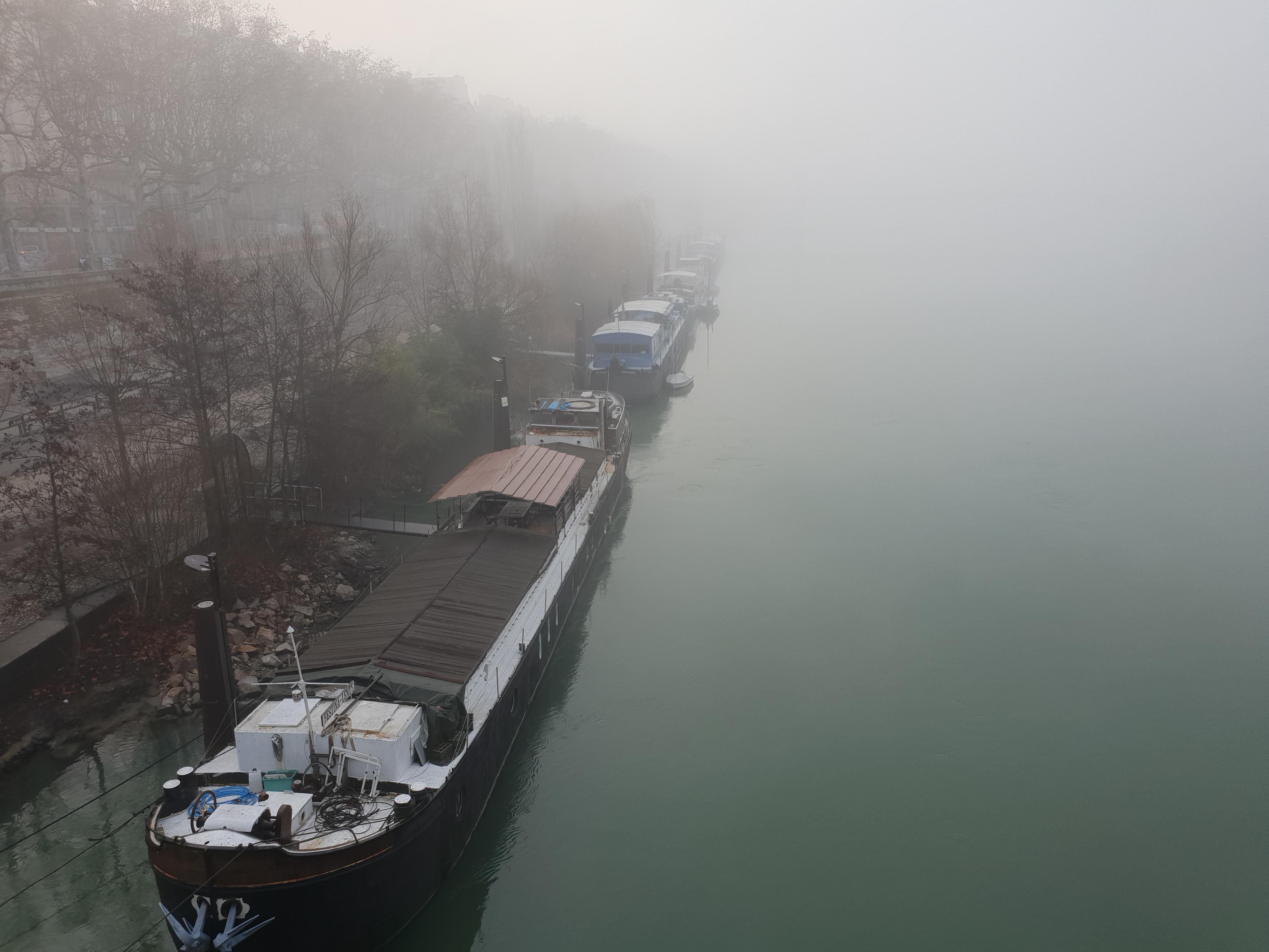 Météo du 4 décembre à Lyon : - 2 degrés, brouillard et pollution - LyonCapitale.fr