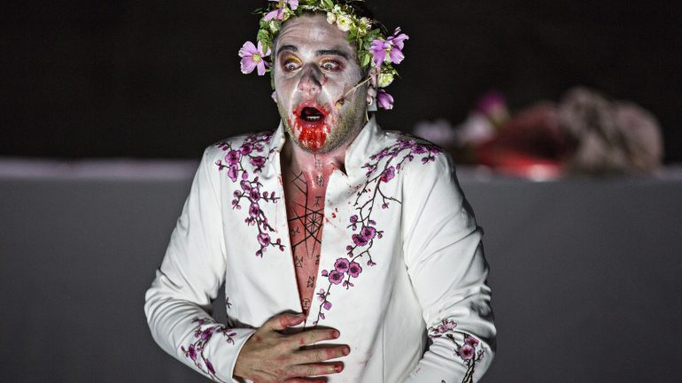 Thyeste, de Sénèque – Mise en scène Thomas Jolly © Jean-Louis Fernandez
