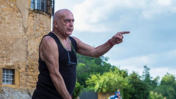 André Guittier en 2016 à Theizé - Représentation de l'Antigone mise en scène par Philippe Mangenot (Théâtre de l'Entre-Deux) -c- Michel Cavalca