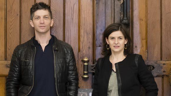 Eric Massé et Angélique Clairand (Cie des Lumas) © Tim Douet