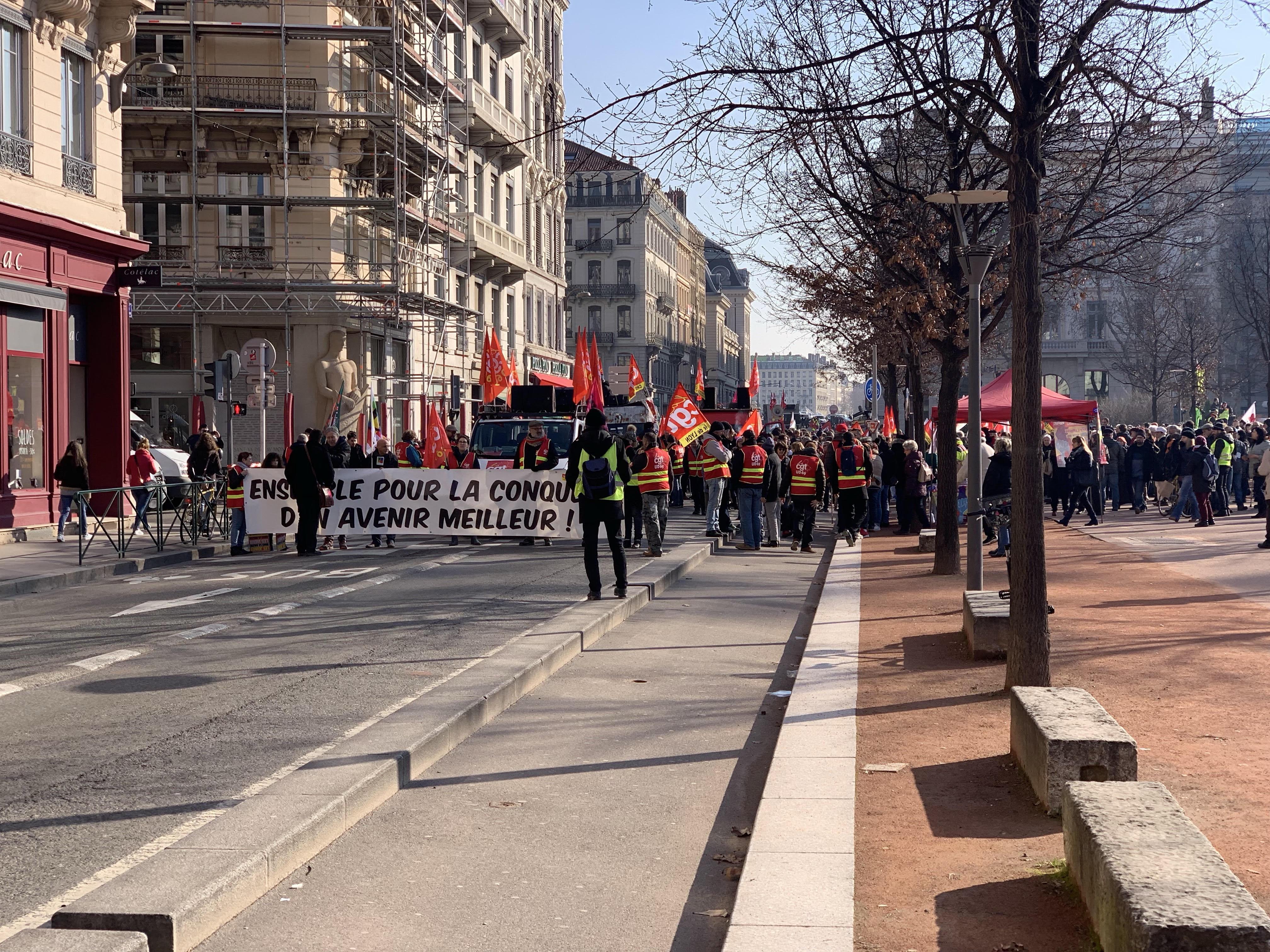Lyon : quel parcours pour la manifestation ce vendredi, TCL impacté ?