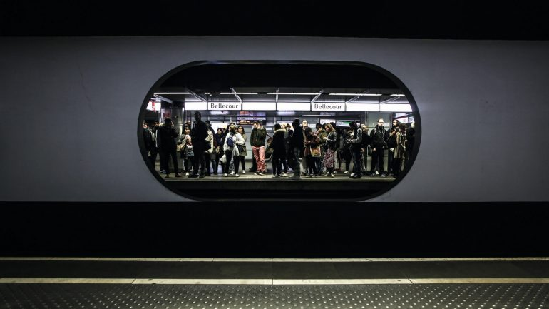 Métro de Lyon, la station Bellecour – Mars 2019 © Antoine Merlet