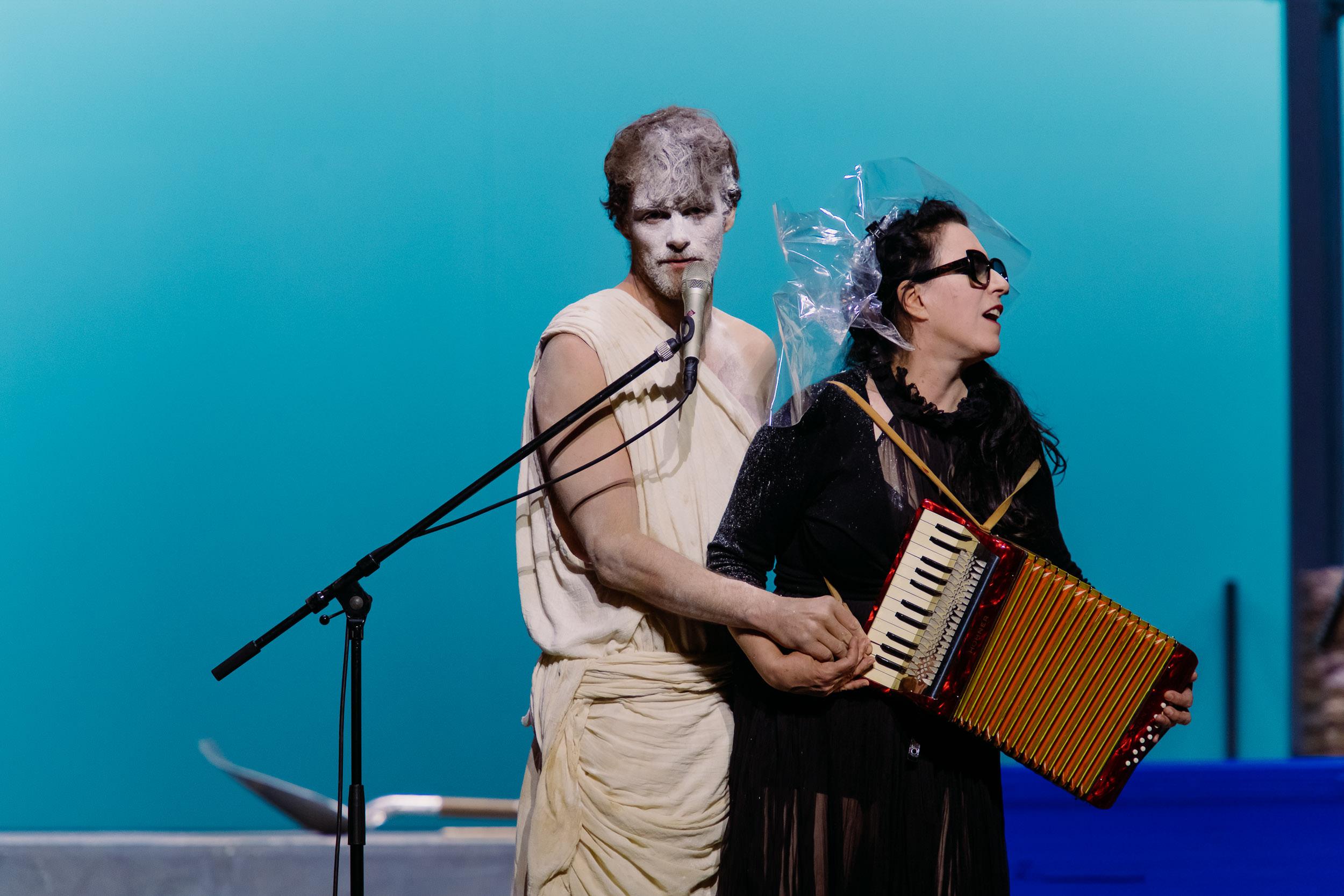 Didon et Enée, Remembered – Mise en scène David Marton © Blandine Soulage