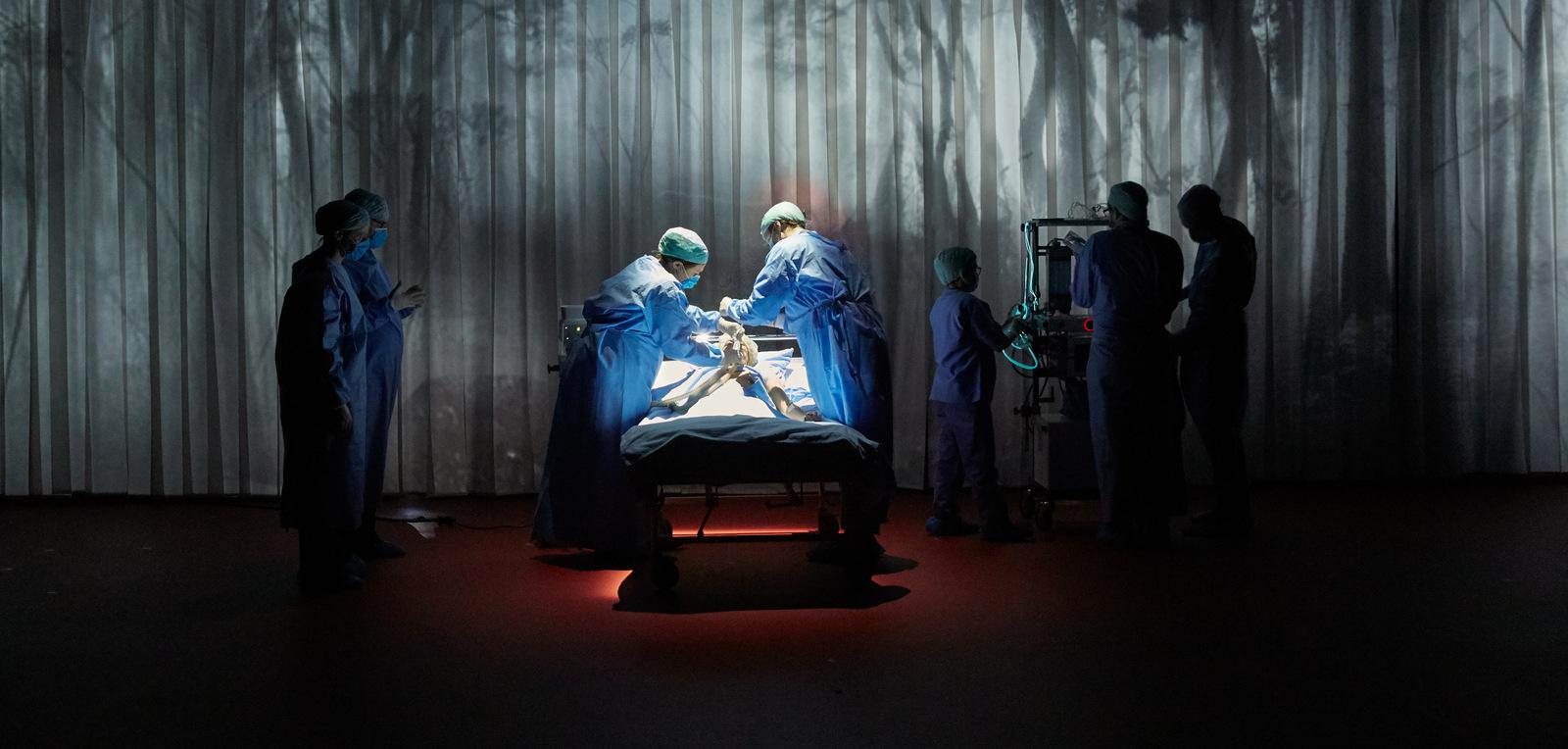 Mon cœur, de Pauline Bureau – Scénographie Emmanuelle Roy © Pierre Grosbois