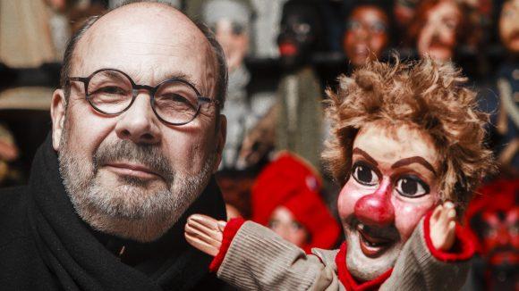 Jean-Marie Ronzet, au théâtre Le Guignol de Lyon – février 2019 © Tim Douet