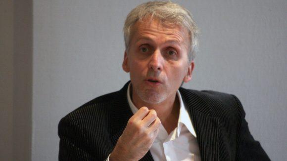 Le géographe Michel Lussault, en 2009 © Pierre Augros / Photo PQR MaxPPP