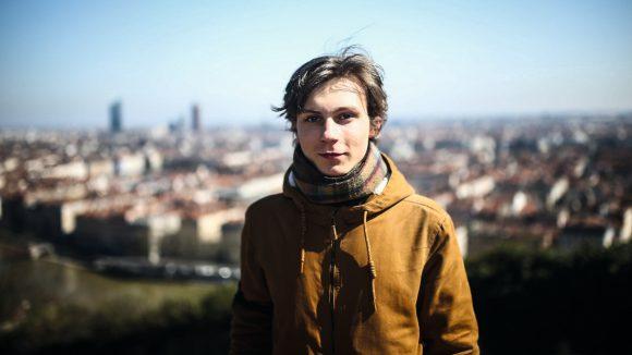 Marin Bisson, à Lyon, le 21mars 2019 © Antoine Merlet
