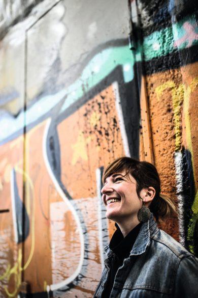 Aurélie Neyret, à Lyon, en mars 2019 ©Antoine Merlet