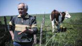 Christian Ferrière, agriculteur à Saint-Laurent-de-Chamousset © Antoine Merlet