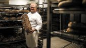 François Pozzoli dans sa boulangerie de Gerland © Antoine Merlet