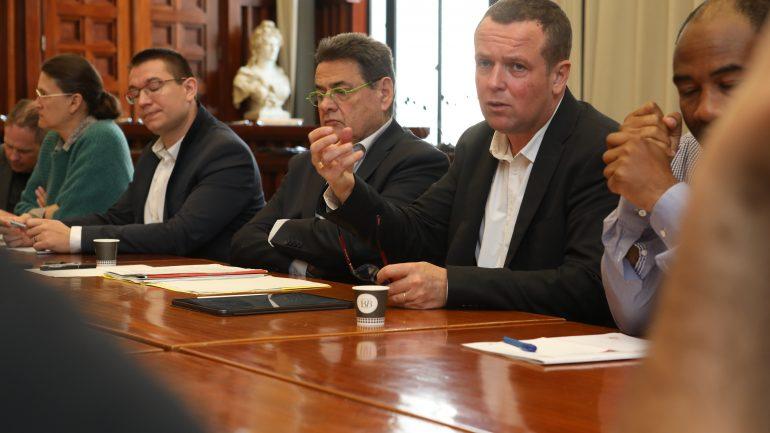 Jean-Paul Bret et Cédric Van Styvendael.