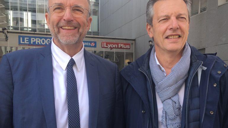 Etienne Blanc et Pascal Blache feront liste commune aux municipales de 2020 à Lyon