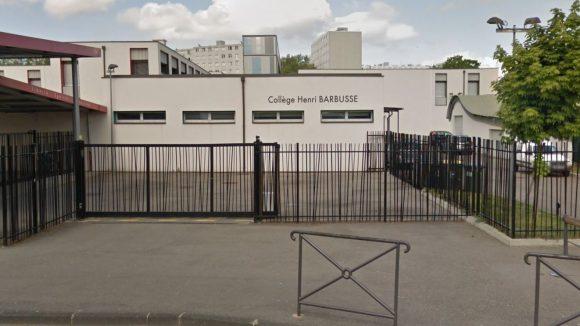 Collège Henri Barbusse de Vaulx-en-Velin (© Google Street View)