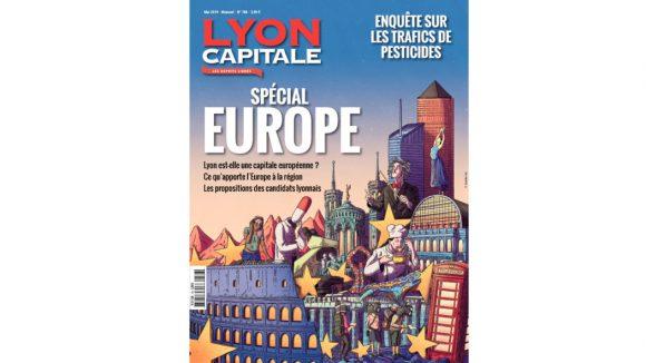 Une mensuel Lyon Capitale mai 2019 © Lyon Capitale
