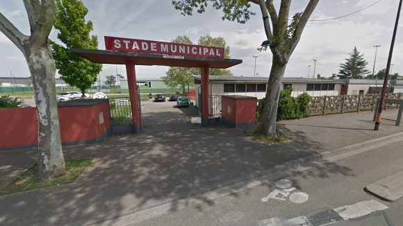 Le stade Francisque-Jomard, à Vaulx-en-Velin (capture d'écran Google Street View)