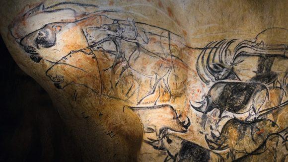 Reconstitution de la grotte Chauvet © Camille Padilla