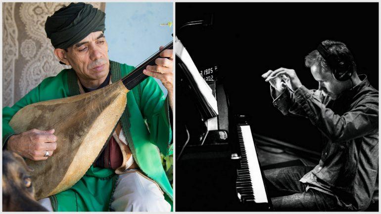L'un des Master Musicians of Jajouka et Max Richter © DR / Rahi Rezvani (montage LC)