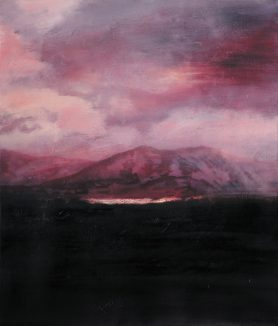 Guillaume Toumanian – Silence, 2018-2019. 55x46cm.