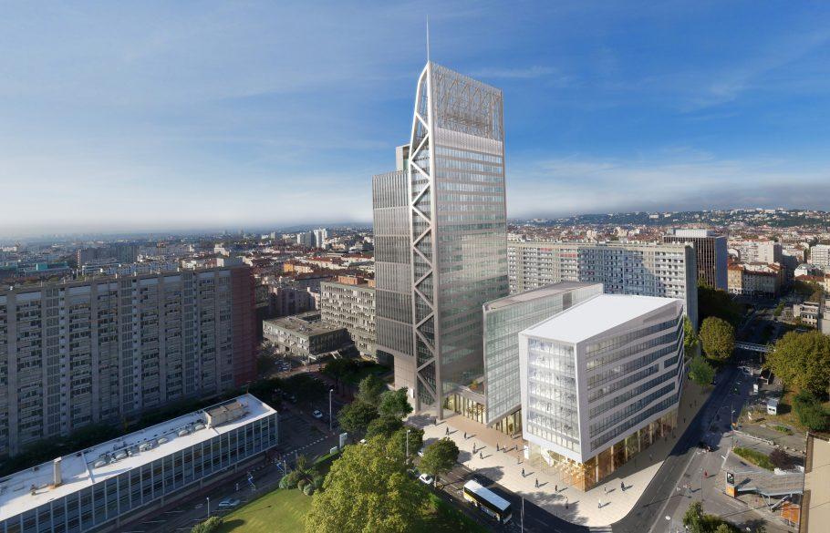 A Lyon, les écologistes ne veulent plus de nouvelles tours à la Part-Dieu