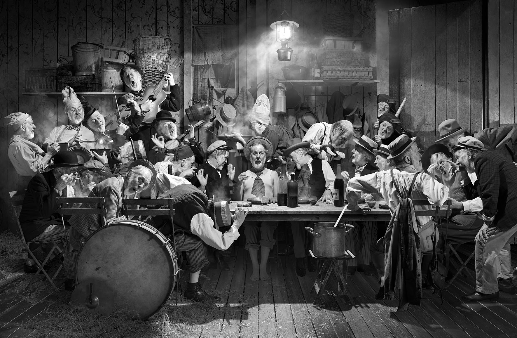 Un os dans la soupe – Dramagraphie © Michel Lagarde