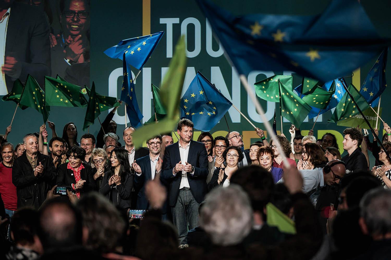 À Lyon, Jadot le réaffirme : les écolos partiront en autonome