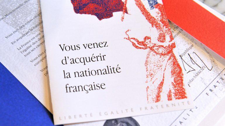 Livret de naturalisation © Alain Jocard / AFP