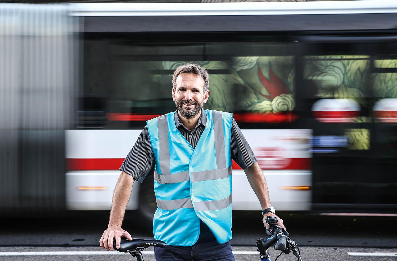 Fabien Bagnon, le monsieur vélo de Lyon, se lance en politique - LyonCapitale.fr
