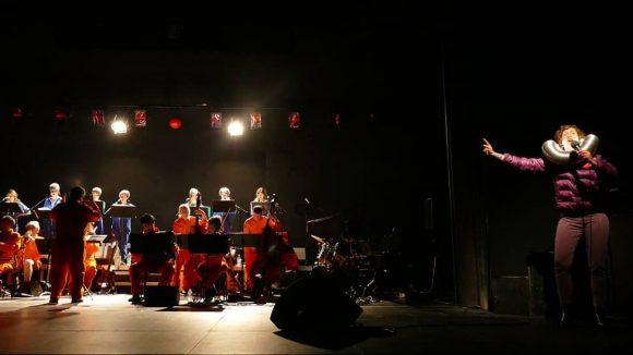Les Plutériens – Mise en scène Guillaume Bailliart (photo de répétition)
