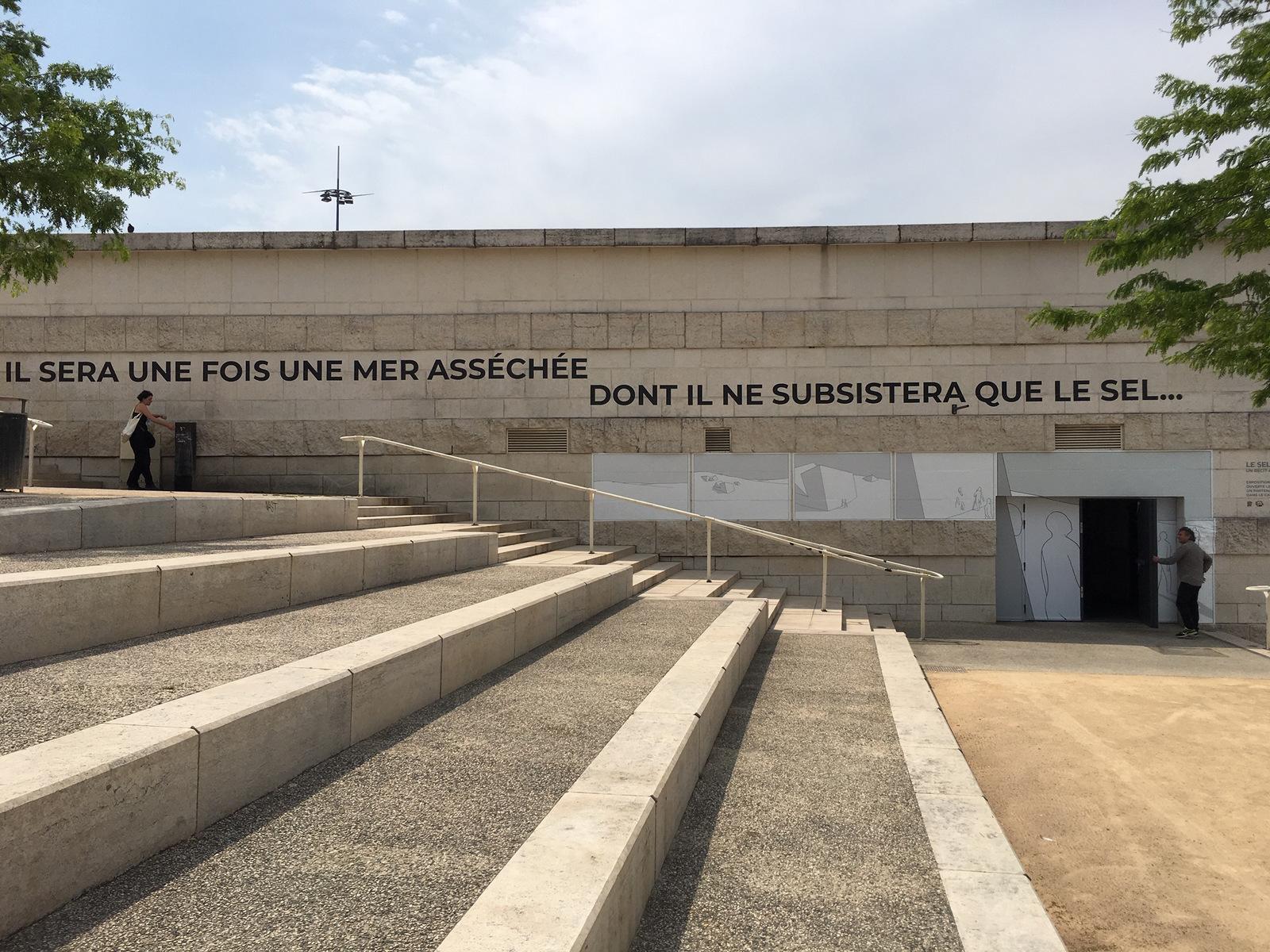 Lyon BD 2019 – Entrée de l'exposition de Mart-Antoine Mathieu © Tim Douet