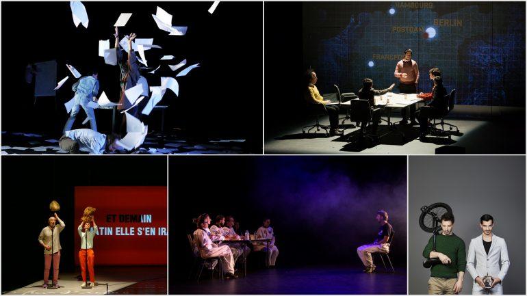 """spectacles candidats au prix Célest""""1 2019"""
