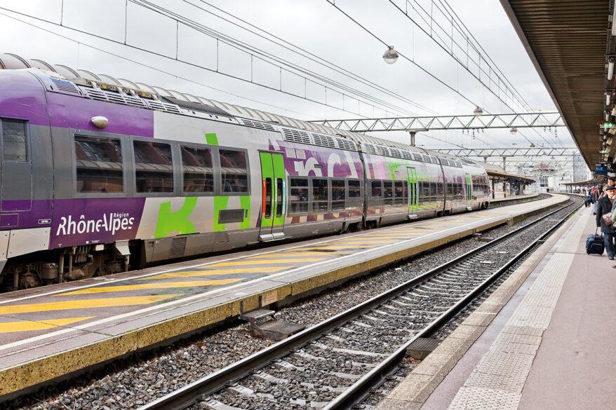 Neige : les TER repartent entre Lyon et Saint-Étienne, avec une limitation - LyonCapitale.fr