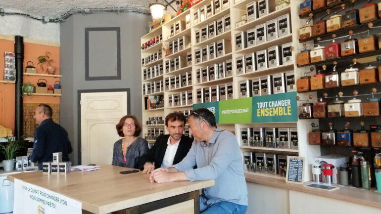 Grégory Doucet, candidat investi par EE-LV aux municipales lyonnaises