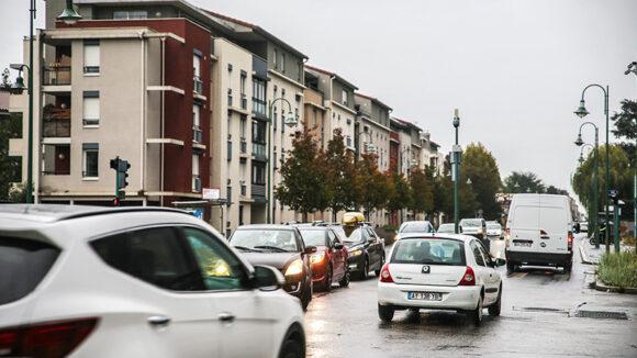 L'avenue Charles-de-Gaulle, à Tassin © Antoine Merlet