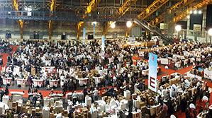 Le Salon des vignerons indépendants de Lyon, à la halle Tony-Garnier © DR