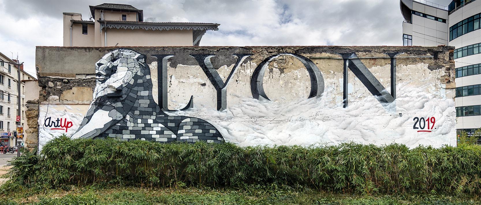 Lyon : après celle sur les Bleus, 2 artistes dévoilent une nouvelle fresque