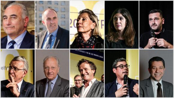 De gauche à droite et de haut en bas: G.Képénékian, M.LeFaou, M.Picot, S.Peillon, M.Uhry, J-L.DaPassano, M.Grivel, T.Rudigoz, D.Vullierme et P.Kabalo.